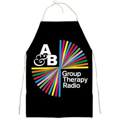 Above & Beyond  Group Therapy Radio Full Print Aprons by Onesevenart
