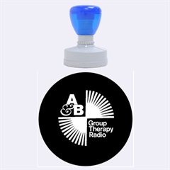 Above & Beyond  Group Therapy Radio Rubber Round Stamps (large) by Onesevenart