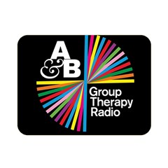 Above & Beyond  Group Therapy Radio Double Sided Flano Blanket (mini)  by Onesevenart