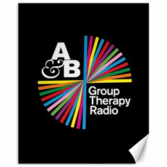 Above & Beyond  Group Therapy Radio Canvas 11  X 14   by Onesevenart