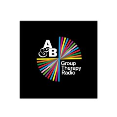 Above & Beyond  Group Therapy Radio Satin Bandana Scarf by Onesevenart