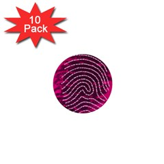 Above & Beyond Sticky Fingers 1  Mini Buttons (10 Pack)  by Onesevenart