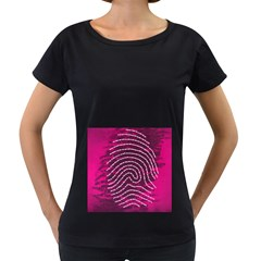 Above & Beyond Sticky Fingers Women s Loose Fit T Shirt (black) by Onesevenart