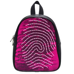Above & Beyond Sticky Fingers School Bags (small)  by Onesevenart