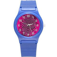 Above & Beyond Sticky Fingers Round Plastic Sport Watch (s) by Onesevenart