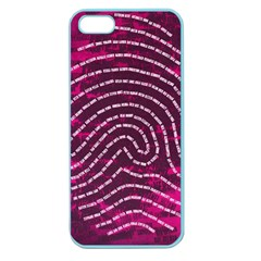 Above & Beyond Sticky Fingers Apple Seamless Iphone 5 Case (color) by Onesevenart