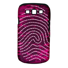Above & Beyond Sticky Fingers Samsung Galaxy S Iii Classic Hardshell Case (pc+silicone) by Onesevenart
