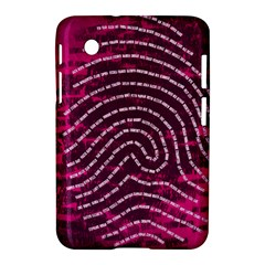 Above & Beyond Sticky Fingers Samsung Galaxy Tab 2 (7 ) P3100 Hardshell Case  by Onesevenart
