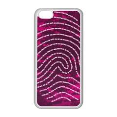 Above & Beyond Sticky Fingers Apple Iphone 5c Seamless Case (white) by Onesevenart