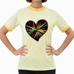 Above & Beyond Women s Fitted Ringer T Shirts by Onesevenart