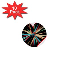 Above & Beyond 1  Mini Buttons (10 Pack)  by Onesevenart
