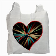Above & Beyond Recycle Bag (one Side) by Onesevenart
