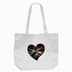 Above & Beyond Tote Bag (white) by Onesevenart