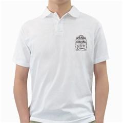 Avada Kedavra Bitch Golf Shirts