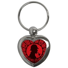Book Cover For Sherlock Holmes And The Servants Of Hell Key Chains (heart)  by Onesevenart