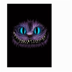 Cheshire Cat Animation Large Garden Flag (Two Sides) by Onesevenart