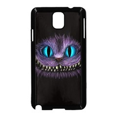 Cheshire Cat Animation Samsung Galaxy Note 3 Neo Hardshell Case (black) by Onesevenart
