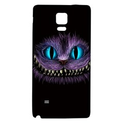 Cheshire Cat Animation Galaxy Note 4 Back Case by Onesevenart