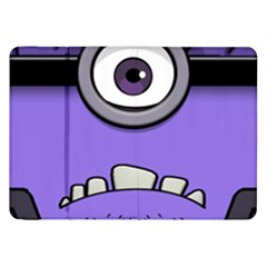 Evil Purple Samsung Galaxy Tab 8 9  P7300 Flip Case by Onesevenart