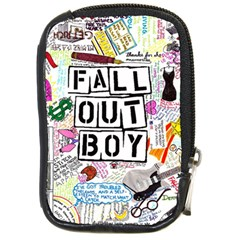 Fall Out Boy Lyric Art Compact Camera Cases by Onesevenart