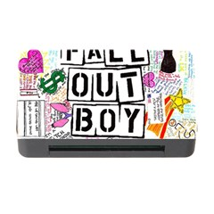 Fall Out Boy Lyric Art Memory Card Reader With Cf by Onesevenart