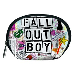 Fall Out Boy Lyric Art Accessory Pouches (medium)  by Onesevenart