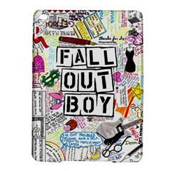 Fall Out Boy Lyric Art Ipad Air 2 Hardshell Cases by Onesevenart