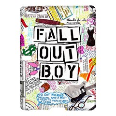 Fall Out Boy Lyric Art Samsung Galaxy Tab S (10 5 ) Hardshell Case  by Onesevenart