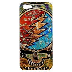 Grateful Dead Rock Band Apple Iphone 5 Hardshell Case by Onesevenart