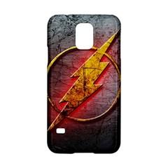 Grunge Flash Logo Samsung Galaxy S5 Hardshell Case  by Onesevenart