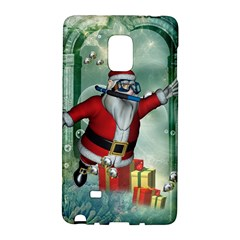 Funny Santa Claus In The Underwater World Galaxy Note Edge by FantasyWorld7