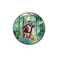 Funny Santa Claus In The Underwater World Hat Clip Ball Marker (10 Pack) by FantasyWorld7