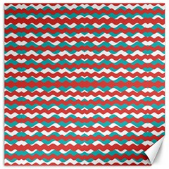 Geometric Waves Canvas 16  X 16   by dflcprints