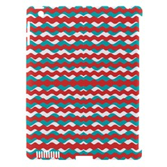 Geometric Waves Apple Ipad 3/4 Hardshell Case (compatible With Smart Cover) by dflcprints