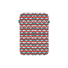 Geometric Waves Apple Ipad Mini Protective Soft Cases by dflcprints