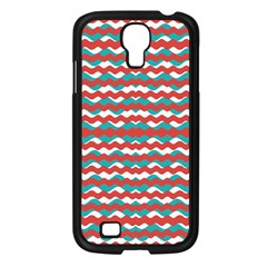 Geometric Waves Samsung Galaxy S4 I9500/ I9505 Case (black) by dflcprints