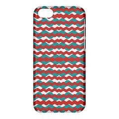 Geometric Waves Apple Iphone 5c Hardshell Case by dflcprints