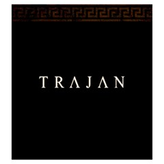 Trajan   A By Rom   Drawstring Pouch (large)   70hoz8zip3km   Www Artscow Com Back