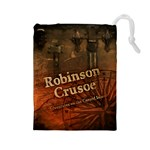 Robinson Crusoe - Adventures on the Cursed Island - Drawstring Pouch (Large)