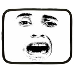 Scared Woman Expression Netbook Case (xxl)  by dflcprints