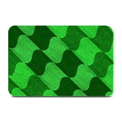 Fabric Textile Texture Surface Plate Mats by Zeze