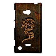 Awesome Dragon, Tribal Design Nokia Lumia 720 by FantasyWorld7