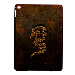 Awesome Dragon, Tribal Design Ipad Air 2 Hardshell Cases by FantasyWorld7
