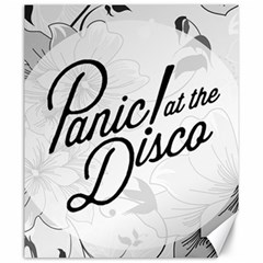 Panic At The Disco Flowers Canvas 20  X 24   by Onesevenart