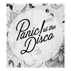 Panic At The Disco Flowers Shower Curtain 66  X 72  (large)  by Onesevenart