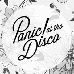 Panic At The Disco Flowers Magic Photo Cubes by Onesevenart