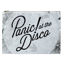 Panic At The Disco Flowers Cosmetic Bag (xxl)  by Onesevenart
