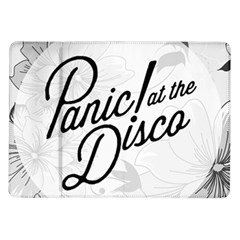 Panic At The Disco Flowers Samsung Galaxy Tab 10 1  P7500 Flip Case by Onesevenart