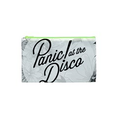 Panic At The Disco Flowers Cosmetic Bag (xs) by Onesevenart