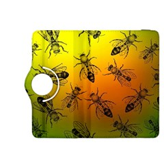 Insect Pattern Kindle Fire Hdx 8 9  Flip 360 Case by Onesevenart